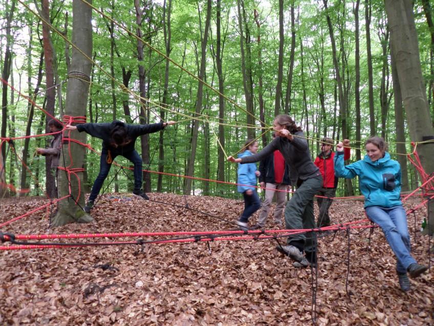 Tagesseminar Mobile Seilspielplätze im Wald am 05.05. / 08.09.2018